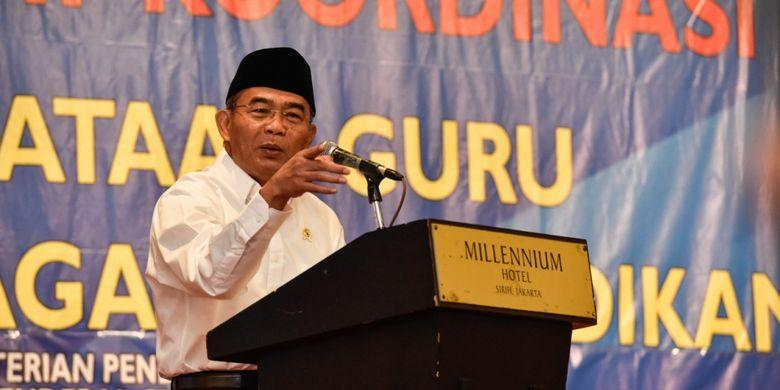 Kementerian Pendidikan dan Kebudayaan (Kemendikbud) menggelar Rapat Koordinasi (Rakor) Penataan Guru dan Tenaga Kependidikan di Jakarta, Kamis (15/11/2018).
