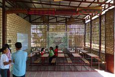 Serba Alami, Sekolah Ini Dibangun dari Campuran Singkong