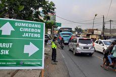 Jalur Tengah Sumedang Padat, One Way Diberlakukan, Kendaraan dari Cirebon Dialihkan ke Jalur Alternatif Subang