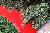 Lagi, Sungai di China Berwarna Merah karena Ulah Manusia