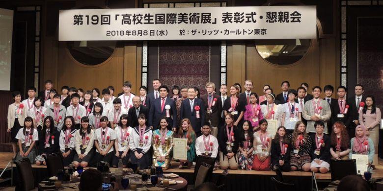Indonesia raih medali emas di ajang International High Schools Arts Festival 2018