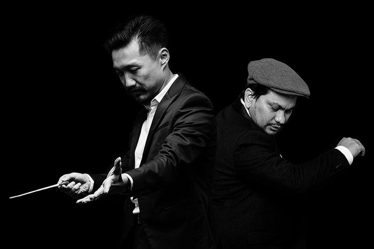Komposer Ricky Lionardi dan Tompi berkolaborasi membawakan lagu Bengawan Solo karya Gesang.