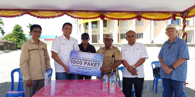 Bersama 4 BUMN, Inalum Santuni Anak-anak di Panti Asuhan Jayapura
