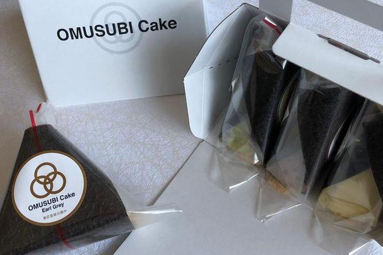 Kue bolu onigiri