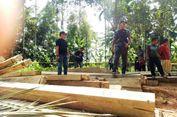 Polisi Amankan 30 Ton Kayu yang Disembunyikan di Kebun Warga