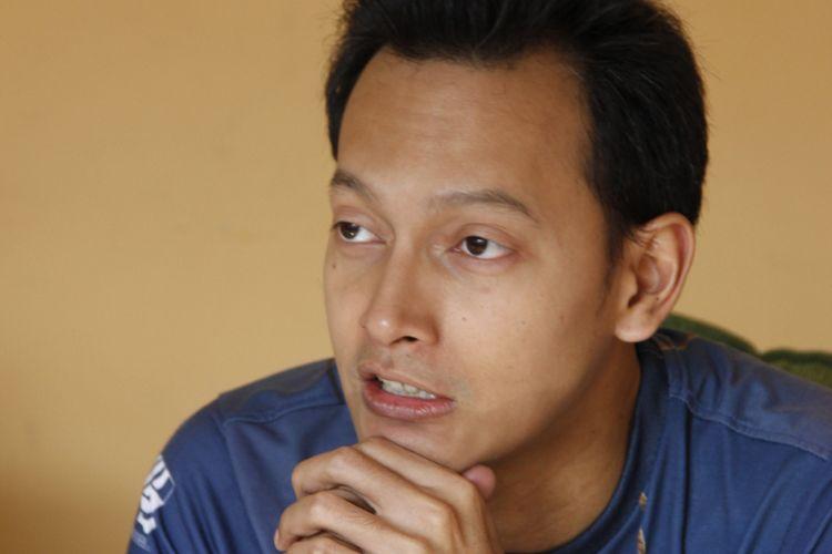 Fedi Nuril saat berkunjung ke kantor redaksi Kompas.com, Palmerah Barat, Jakarta Pusat, Jumat (10/8/2018).