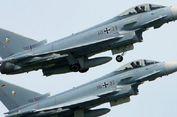 Sedang Menjalankan Misi, 2 Jet Tempur Eurofighter Jerman Bertabrakan di Udara