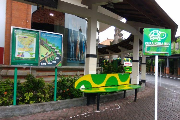 Halte Kura Kura Bus di DFS T Galleria, Bali.