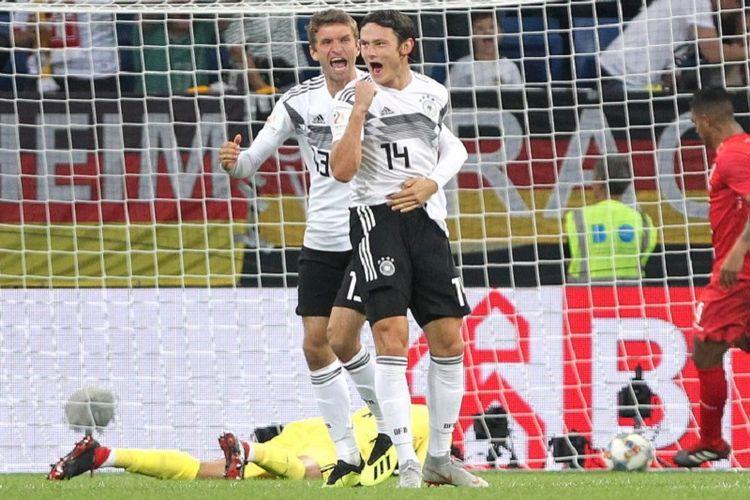 Gol Pemain Debutan Warnai Rekor Joachim Loew di Timnas Jerman