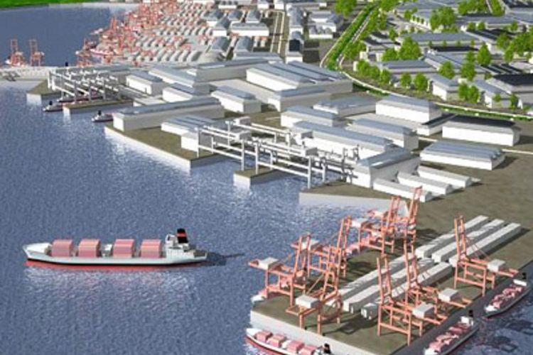Madura Industrial Seaport City, Bangkalan, Madura.
