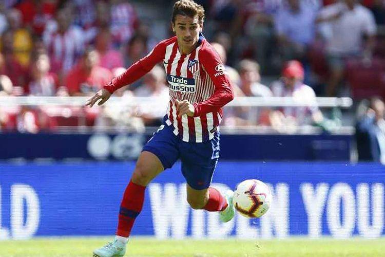 Antoine Griezmann masih dalam rencana Atletico Madrid musim 2019/2020