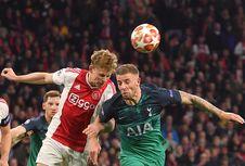 Ajax Vs Tottenham, Peran Frenkie De Jong yang Jomplang di Babak Kedua