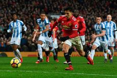 Hasil Liga Inggris, Alexis Sanchez Cetak Gol, Manchester United Menang