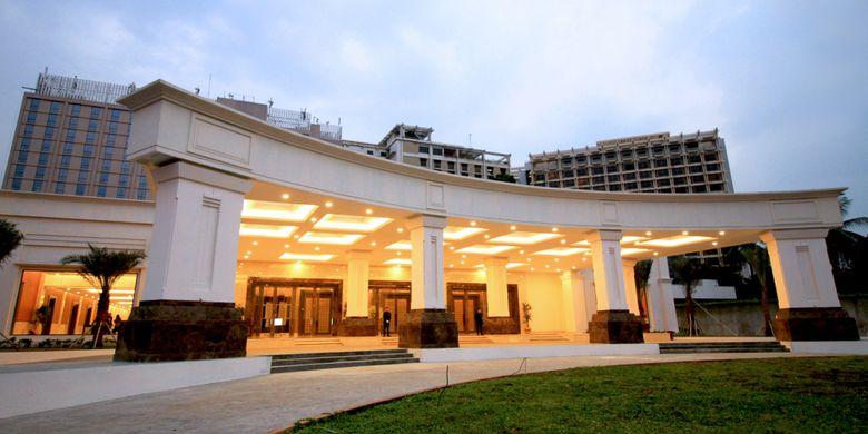 Golden Ballroom di The Sultan Hotel & Residence Jakarta.