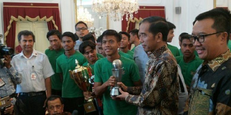 Presiden Jokowi Bangga atas Perjuangan Timnas U-16 Indonesia