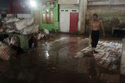Ciliwung Meluap, Kios Pedagang Pasar Induk Jambu Dua Bogor Terendam Lumpur