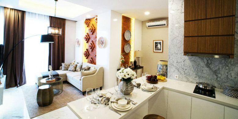 Desain interior Synthesis Residence Kemang.