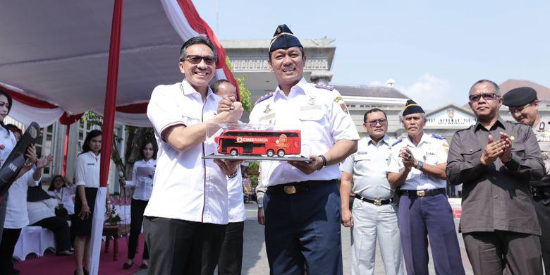 Si Denok, Bis Wisata Kedua yang Diluncurkan Wali Kota Semarang