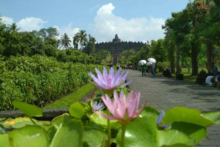 Candi Borobudur di Magelang, Jawa Tengah, akan menjadi lokasi puncak perayaan Tri Suci Waisak, 25-29Mei 2018.