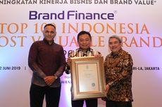 Telkom Sabet Penghargaan Brand Paling Bernilai di Indonesia