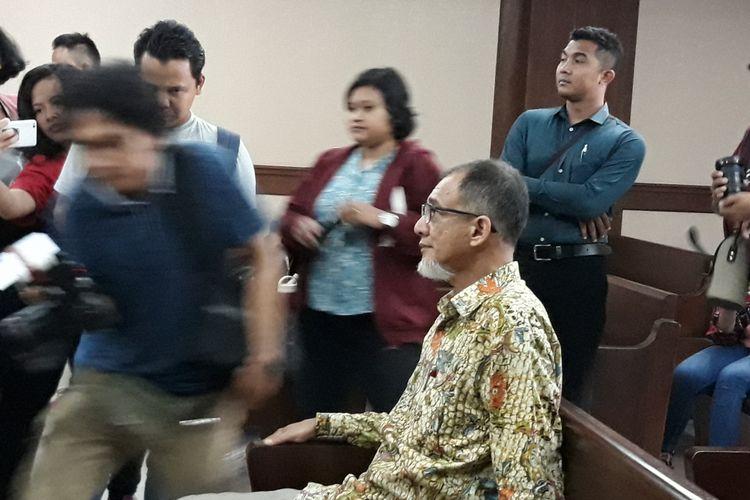 Mantan Kepala Biro Perencanaan dan Organisasi Badan Keamanan Laut (Bakamla) Nofel Hasan di Pengadilan Tipikor Jakarta, Rabu (14/3/2018).