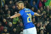 Bukan Lagi Coutinho, Richarlison Kini Tak Tersentuh di Timnas Brasil