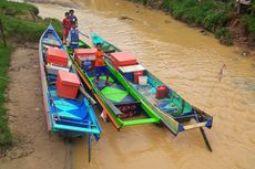 Nelayan Hilang Saat Mencari Ikan di Sungai, Warga Hanya Temukan Perahu