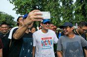 Bercucuran Keringat Usai Lari 5 Km, Sandiaga Tetap Mau Diajak 'Selfie'