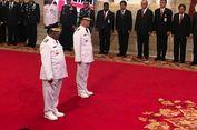 Presiden Jokowi Lantik Plt Gubernur Riau dan Bengkulu
