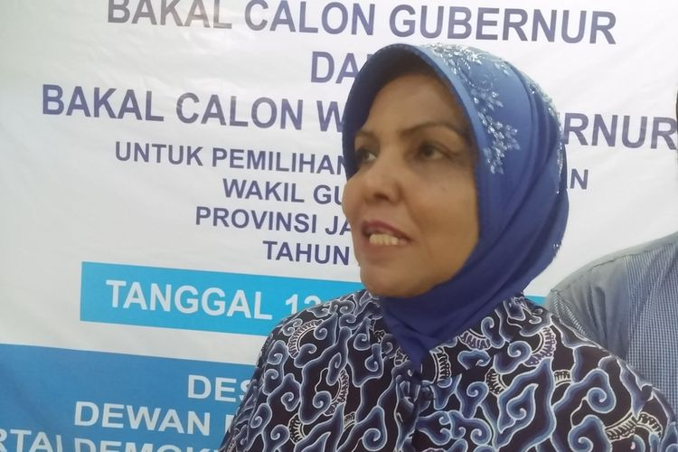 Waketum Partai Demokrat Nurhayati Assegaf