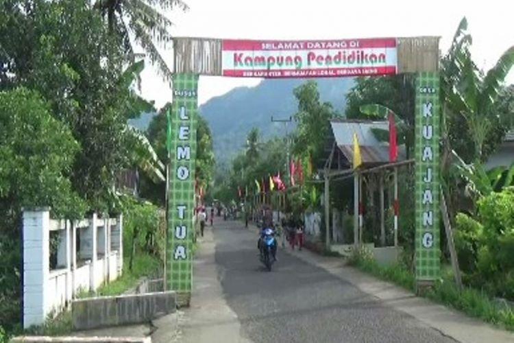 Kampung Pendidikan yang dibangun Hasan di Polewali Mandar.