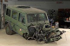 Ini Mobil yang Tahan Ledakan Bom, Terbukti di Afghanistan