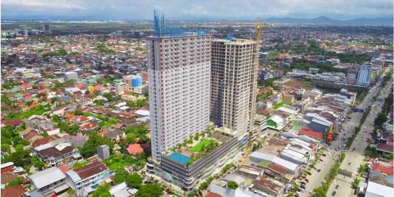 Apartemen besutan Ciputra Group dan Galesong Group ini sudah menyelesaikan 100 persen tower pertamanya (Ashton Tower), sementara menara kedua (Brentsville Tower) dijadwalkan rampung pada akhir tahun nanti.