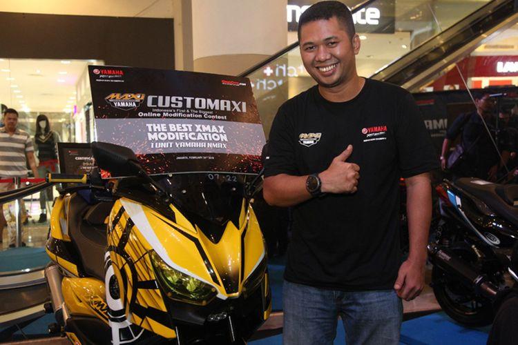 Modifikasi Yamaha XMAX terbaik di ajang final CustoMaxi 2018.