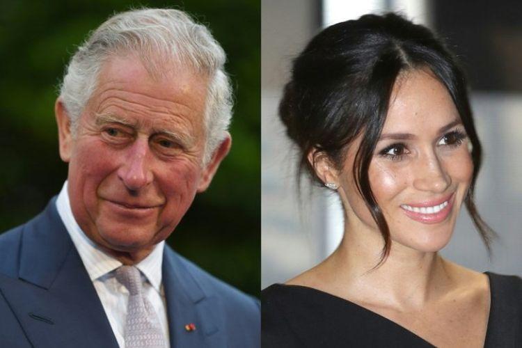 Pangeran Charles (kiri) dan Meghan Markle (kanan). (AFP)