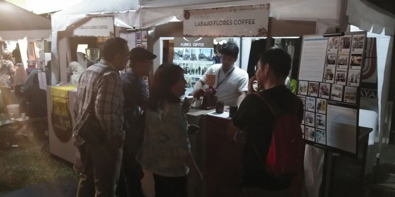 La Bajo Flores Coffee Ikuti Festival Kopi di Bentara Budaya Jakarta