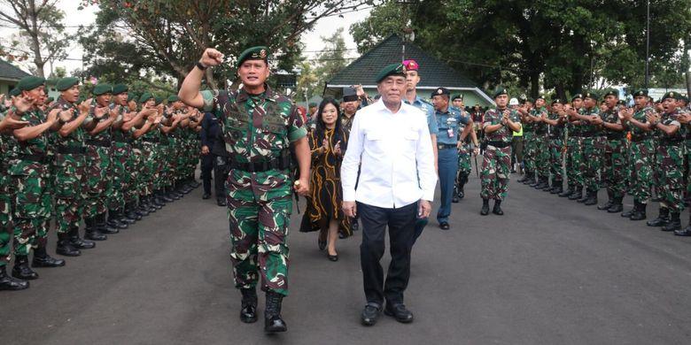 Kunjungi Divisi Infanteri 2 Kostrad, Menhan Ingatkan Hal Ini