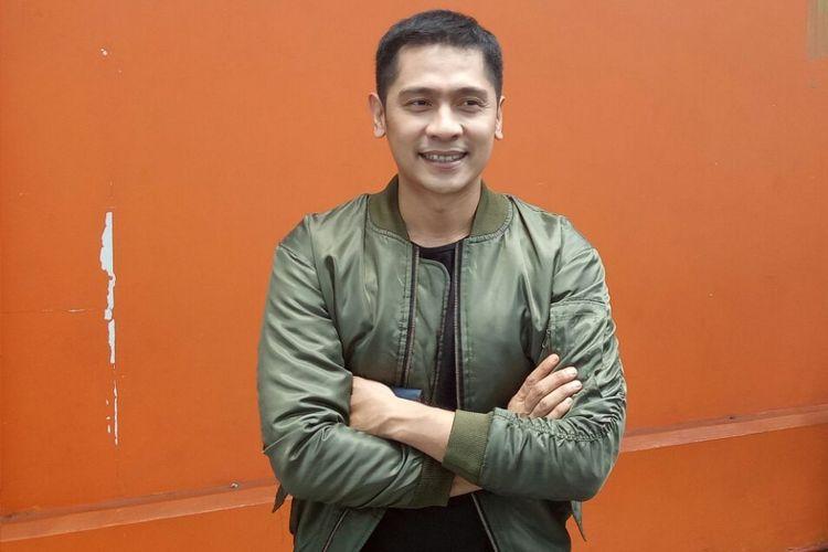 Adi Nugroho ditemui sehabis ambil bagian dalam sebuah kegiatan di kawasan Tendean, Jakarta Selatan, Selasa (17/10/2017).