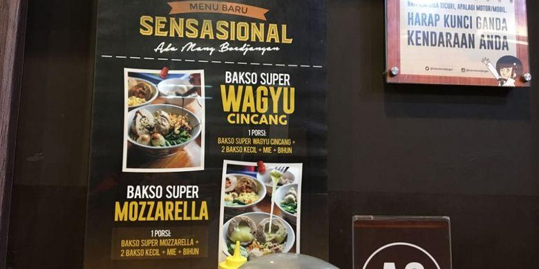 Salah satu outlet Bakso Boedjangan di Tanjung Duren, Jakarta Barat, Selasa (7/8/2018). Bakso Boedjangan merupakan satu dari sejumlah brand milik Cita Rasa Prima (CRP) Group yang berbasis di Bandung, Jawa Barat.