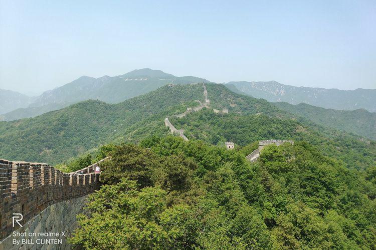 Hasil Foto Realme X. Ketika membidik objek-objek pemandangan, Realme X tampak bisa diandalkan. Bisa dilihat foto The Great Wall of China dapat dijepret dengan sangat baik dengan warna yang cukup natural.
