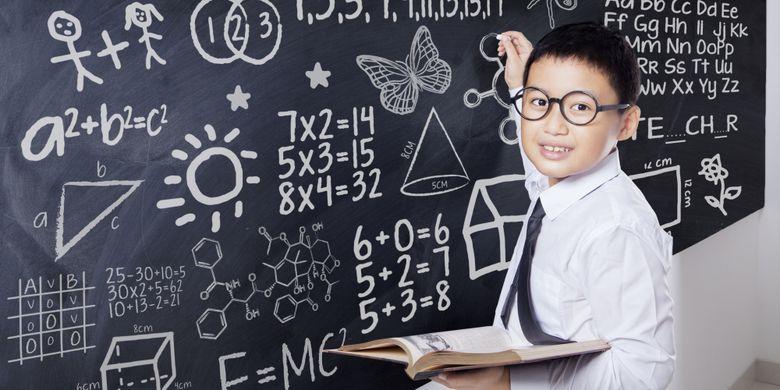 Ilustrasi pendidikan untuk anak-anak