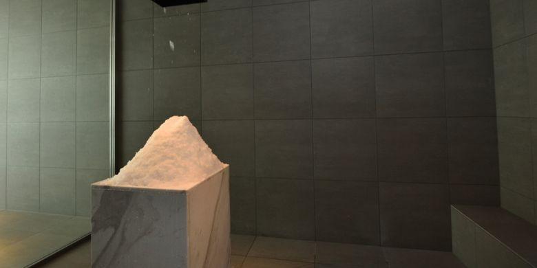 Ice Room dengan suhu antara 10-15 derajat celsius yang dapat membantu mengencangkan kulit dan meningkatkan fungsi tubuh.