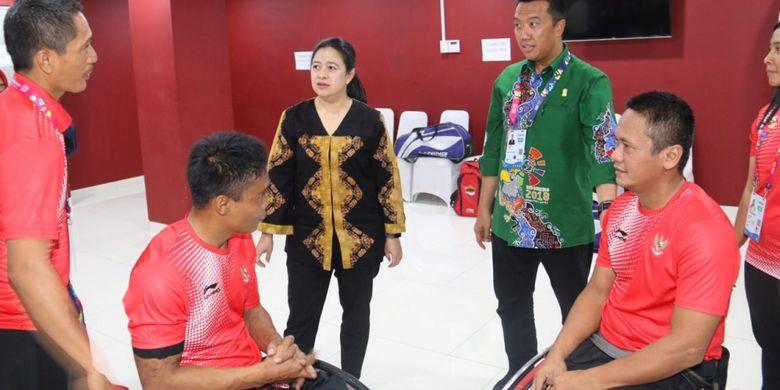 Menko PMK Beri Dukungan Langsung Atlet Asian Para Games Indonesia