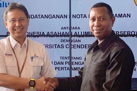 Dukung Pembangunan Papua, Inalum Jalin Kerja Sama dengan Uncen