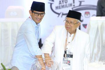 Sandiaga Uno dan Maruf Amin