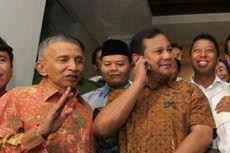 Selasa Sore Ini, Amien Rais Akan Temui Prabowo