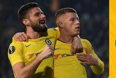 Malmo Vs Chelsea, Barkley-Giroud Menangkan The Blues