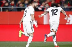 Girona Vs Real Madrid, 2 Gol Benzema Bawa Timnya ke Semifinal