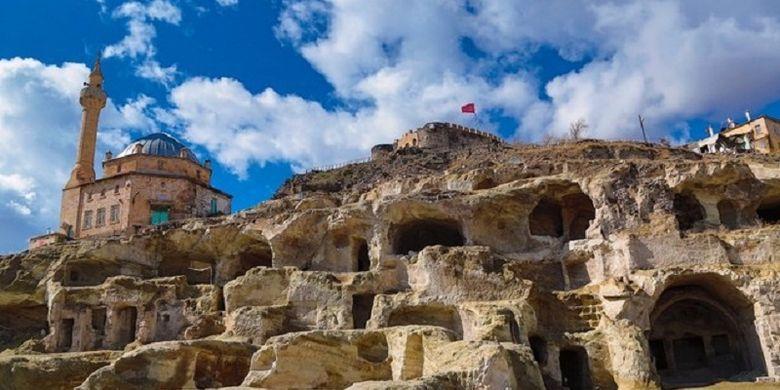 Kota bawah tanah yang baru ditemukan di Cappadocia, Turki yang diyakini merupakan yang terbesar hingga saat ini.