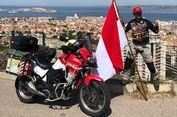 Saat Motor 'Merah Putih' dari Jakarta, Curi Perhatian Warga Marseille